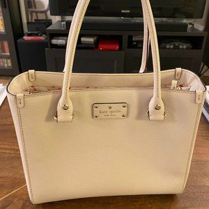 Kate Spade Ivory Tote Bag